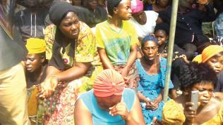Image result for mass burial in makurdi by fulani herdsmen