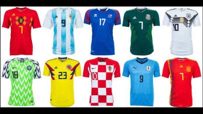 20e70795a34 Top World Cup 2018 football jerseys - Infotrust News