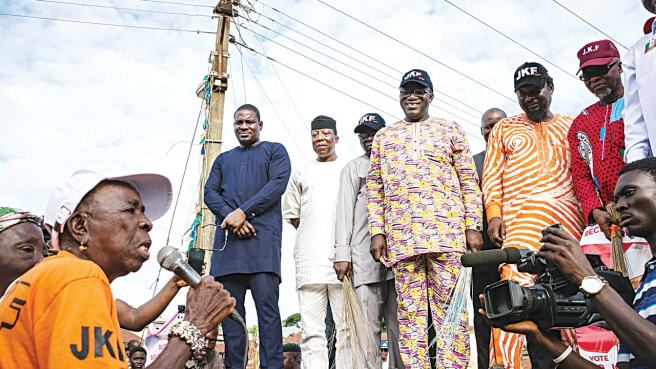 Image result for Fayemi and Egbeyemi