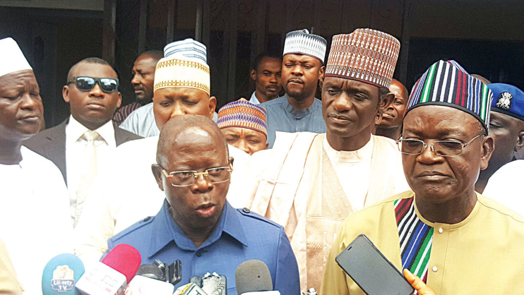 Image result for We are surprised by Ortom's decision to join PDP