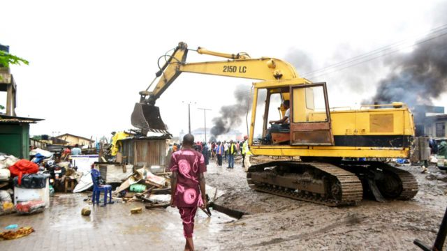 2 dead, eight injured from collapsed abbatoir fence in Lagos