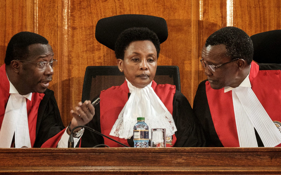 Kenya's Judiciary Said On Thursday It Has Released 4,800 Prisoners, Who Are Serving Sentences For Petty Offences To Help Contain The Spread Of The Novel Coronavirus In The Country. David Maraga, C