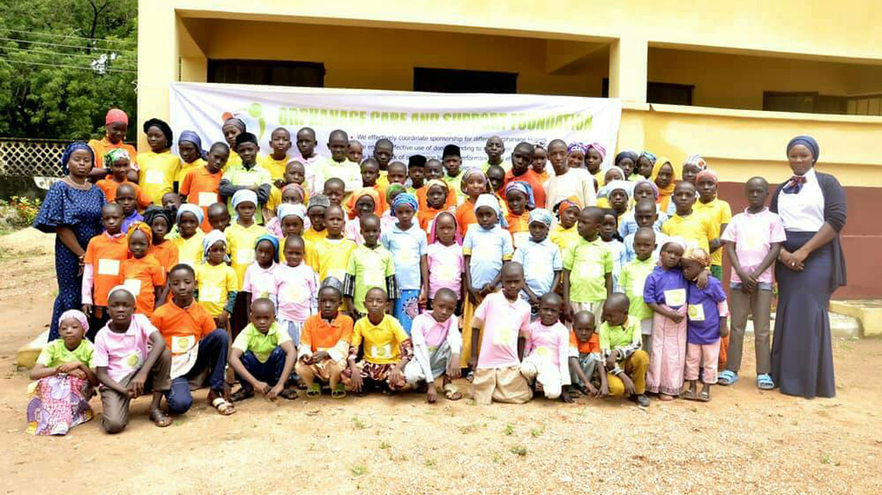 Foundation Distributes 400 Footwears To Vulnerable Children In Kaduna