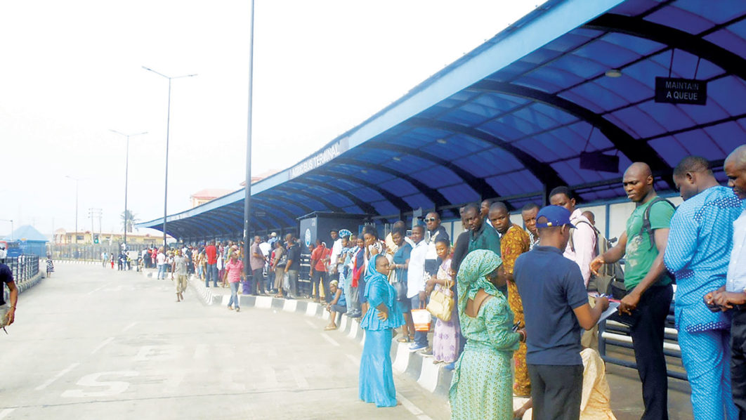 Lady Escapes Lynching Over Alleged Snatching Of Manhood In Brt Bus