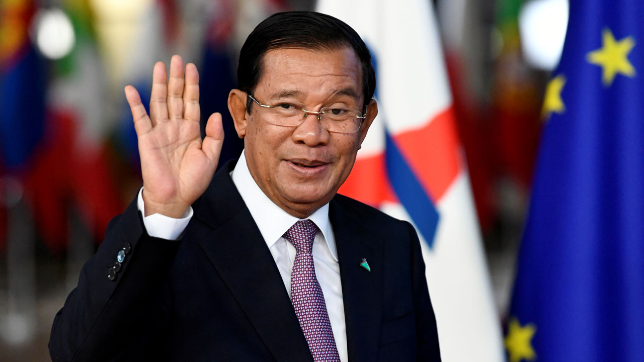 Cambodian Prime Minister Hun Sen On Monday Said The Nation's Casinos Would Be Closed Starting Onwednesday And Rice Exports Would Stop By Sunday In Response To The Coronavirus Pandemic, State Medi