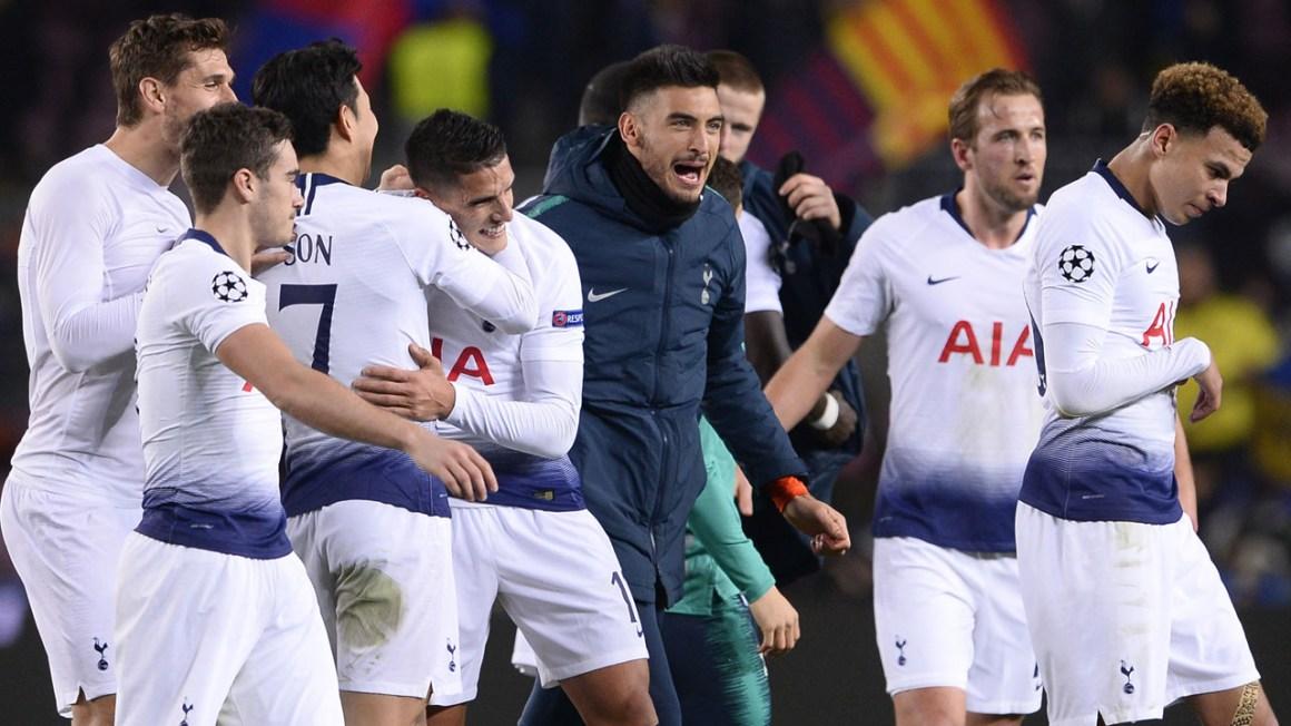 Kết quả hình ảnh cho Tottenham