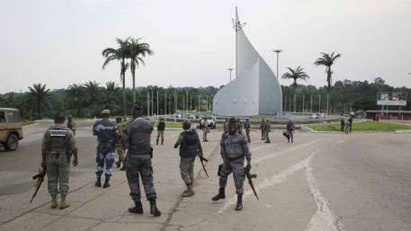 Image score for Gabon Coup Attempt: Two Army Rebels Killed