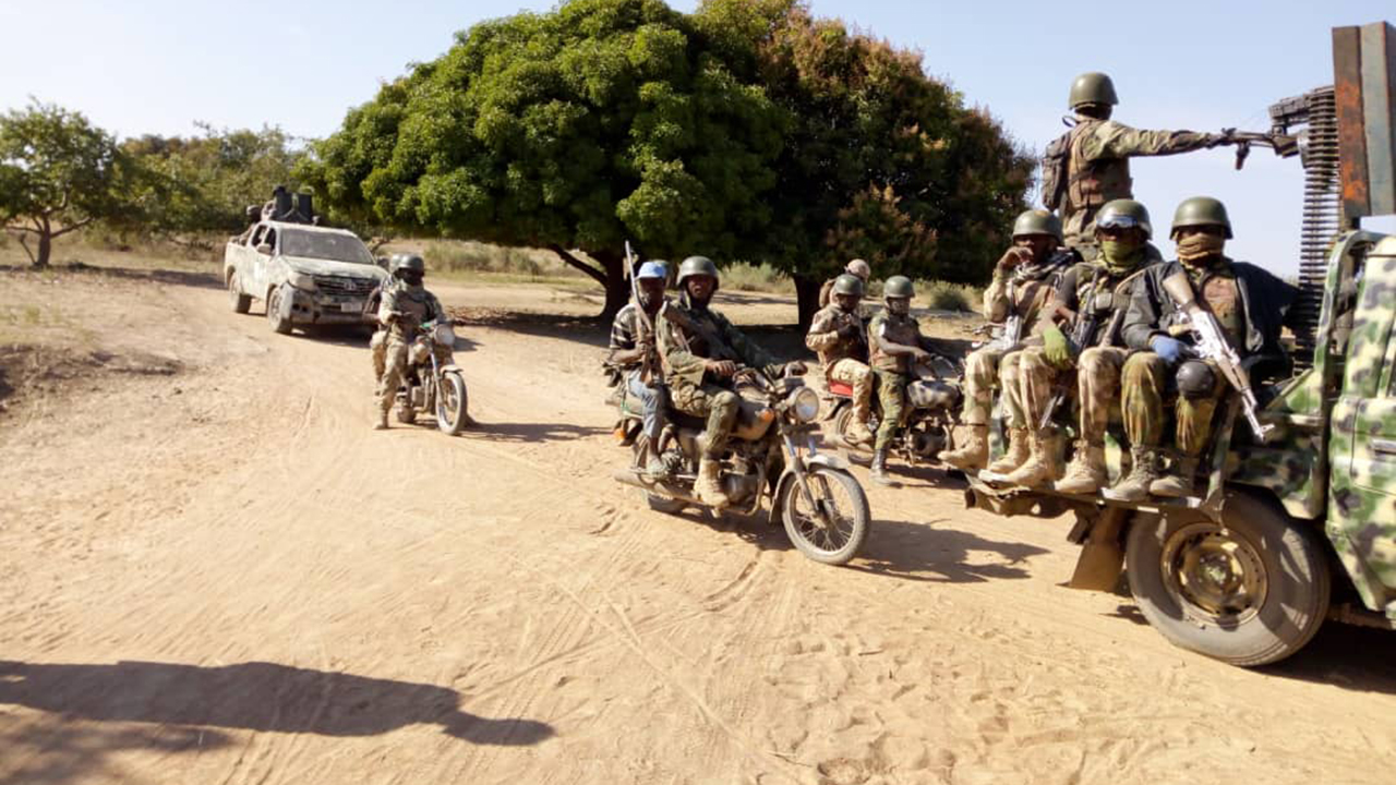 Army Iss Lake Chad Sahel
