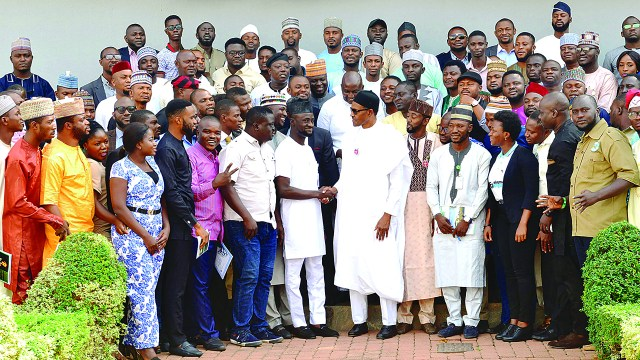 Image result for NANS Meeting With BUHARI  ASUU STRIKE UPDATES