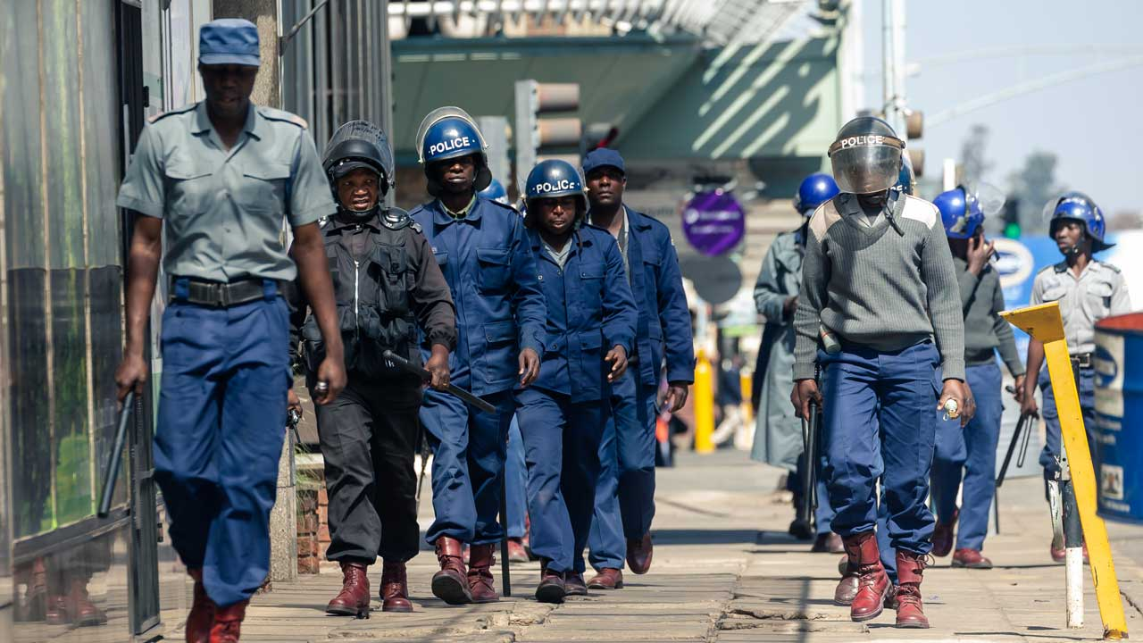 Zimbabwean police say no anti-government protests on Friday