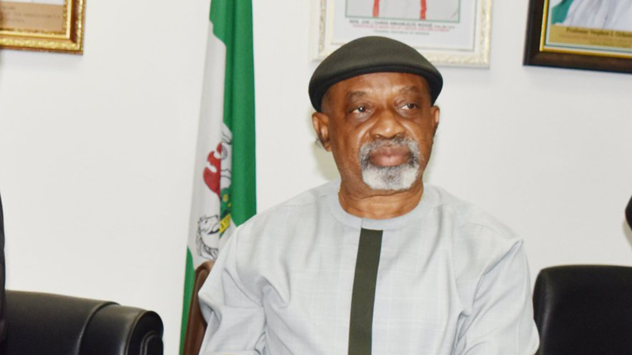 Minister Labour Employment Chris Ngige