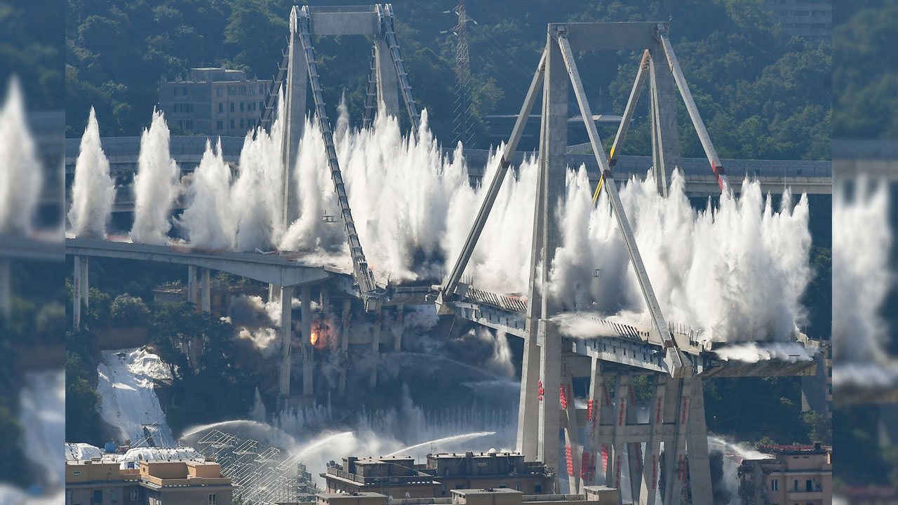 Italy on Friday commemorated the collapse of a motorway bridge in Genoa that killed 43 people two years ago, with speeches and a minute of silence near the newly built replacement bridge. Relatives of the victims stood hugging in silence, with only church bells ringing, at the exact time of the accident, 11:36 am (0936 […]