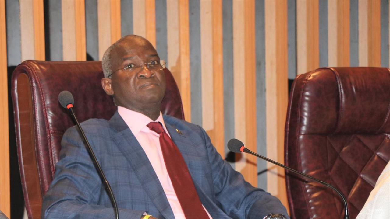 Babatunde Fashola Minister Works Housing Human Programmes Habitat