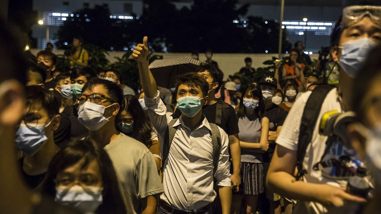 Hong Kong 7 - Central govt. spokesperson condemns knife attack against Hong Kong lawmaker