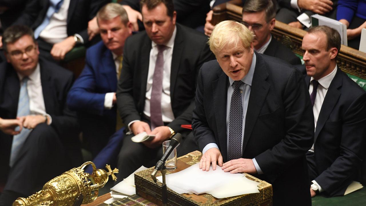 Boris Johnson 5 - British lawmakers to push Johnson to extend Brexit law timetable