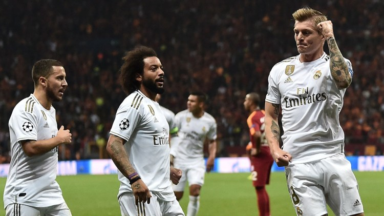 Real Madrid get off the mark in Champions League through ...