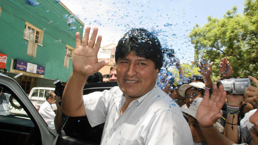 Fuel Bolivian Minister
