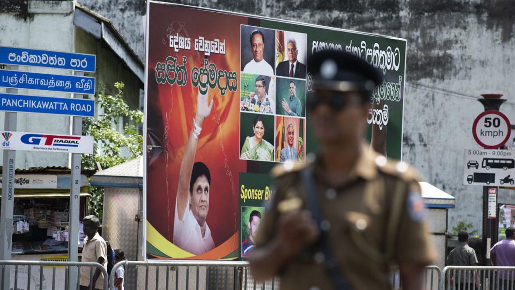 Voting Sri Lanka