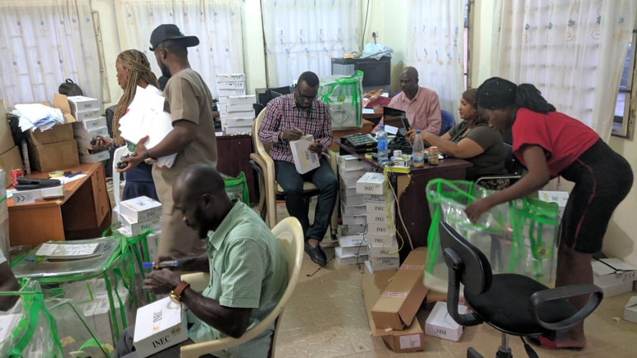 inec 1 - Kogi,Bayelsa elections: Organisation expresses concern about small arms