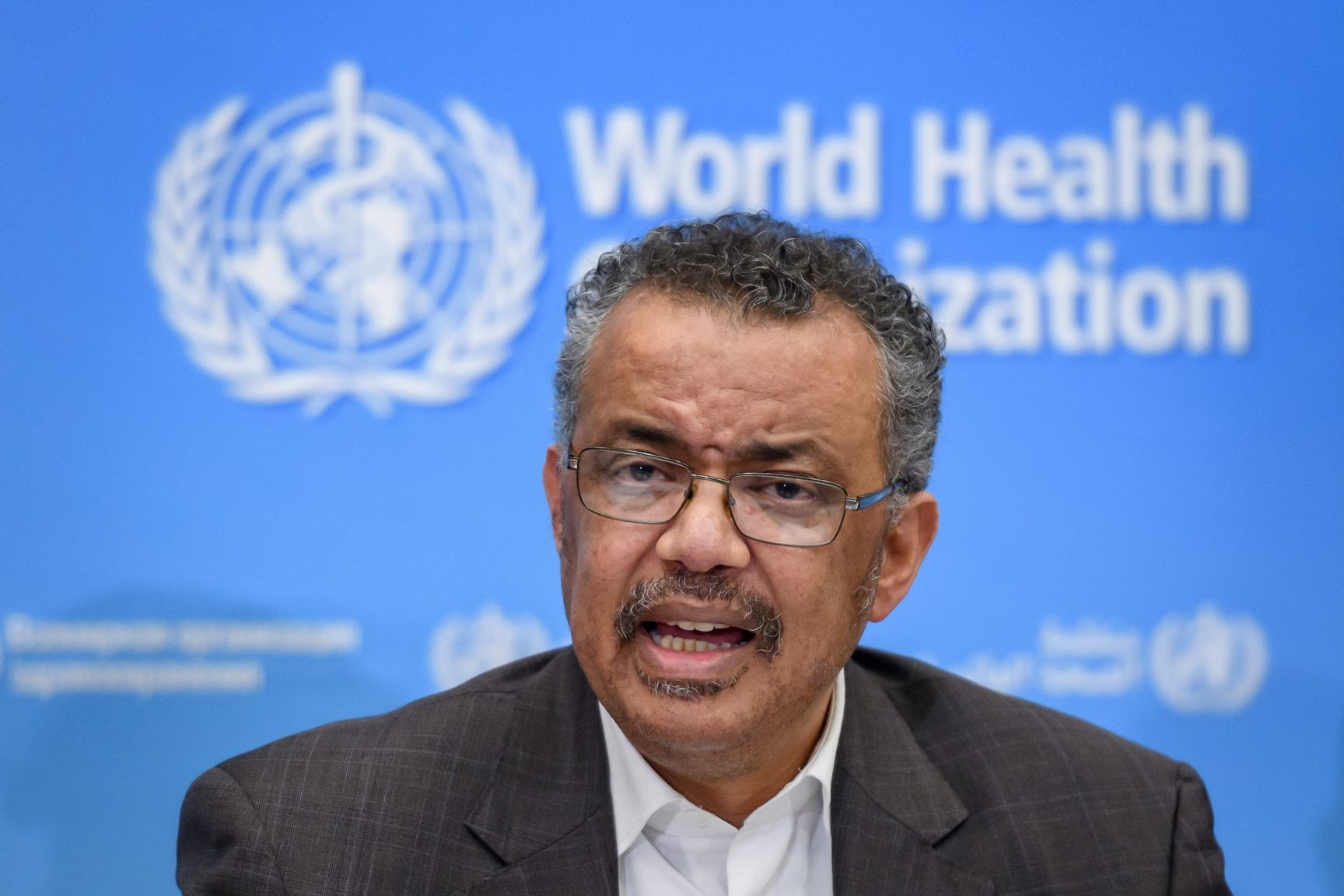 Director General World Health Organisation Tedros Ghebreyesus