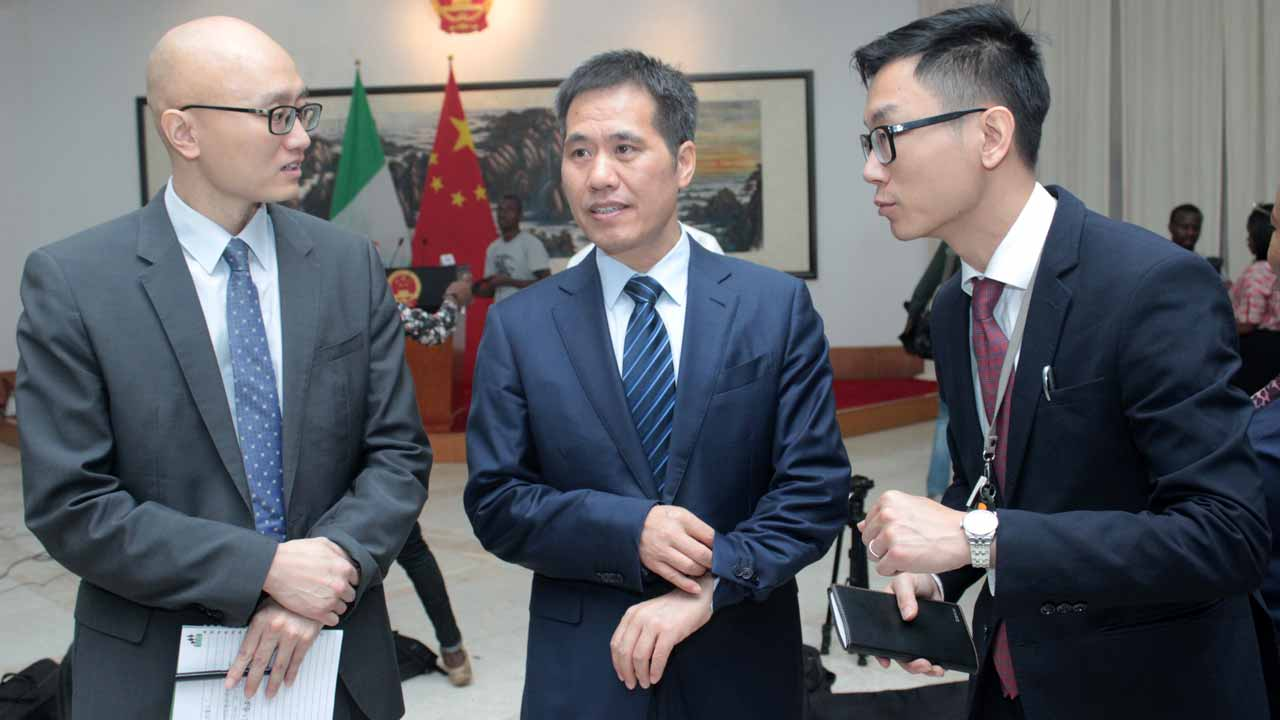 Chinese Ambassador To Nigeria, Zhuo Pingjian, On Friday Donated Medical Equipment To The Ministry Of Foreign Affairs In Support Of The Fight Against Covid 19 In Nigeria. Pingjian, While Delivering The Medical Items At The Ministry In Abuja, Said The Outbreak Of Covid 19 Has Posed Threats To