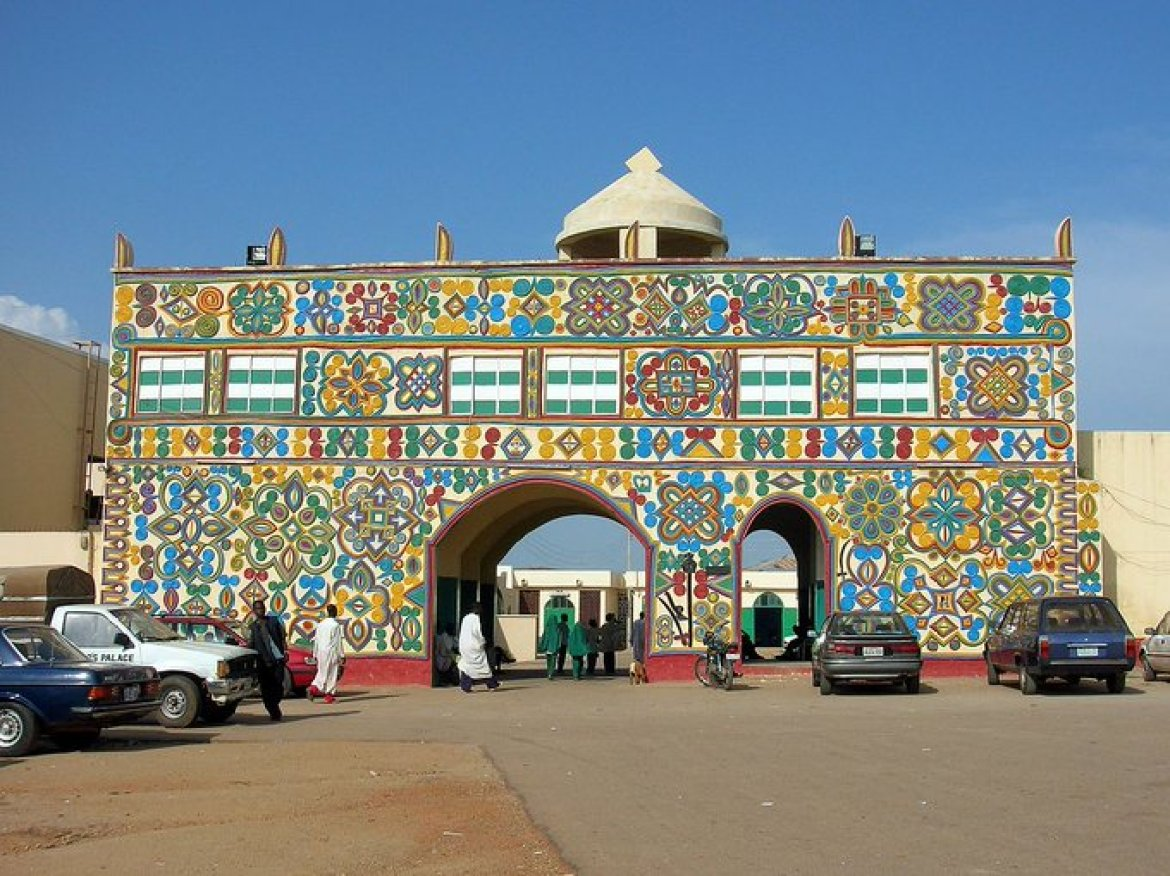 Emir's Palace within the ancient city of Zazzau (Zaria). Photo Twitter hallaboutafrica