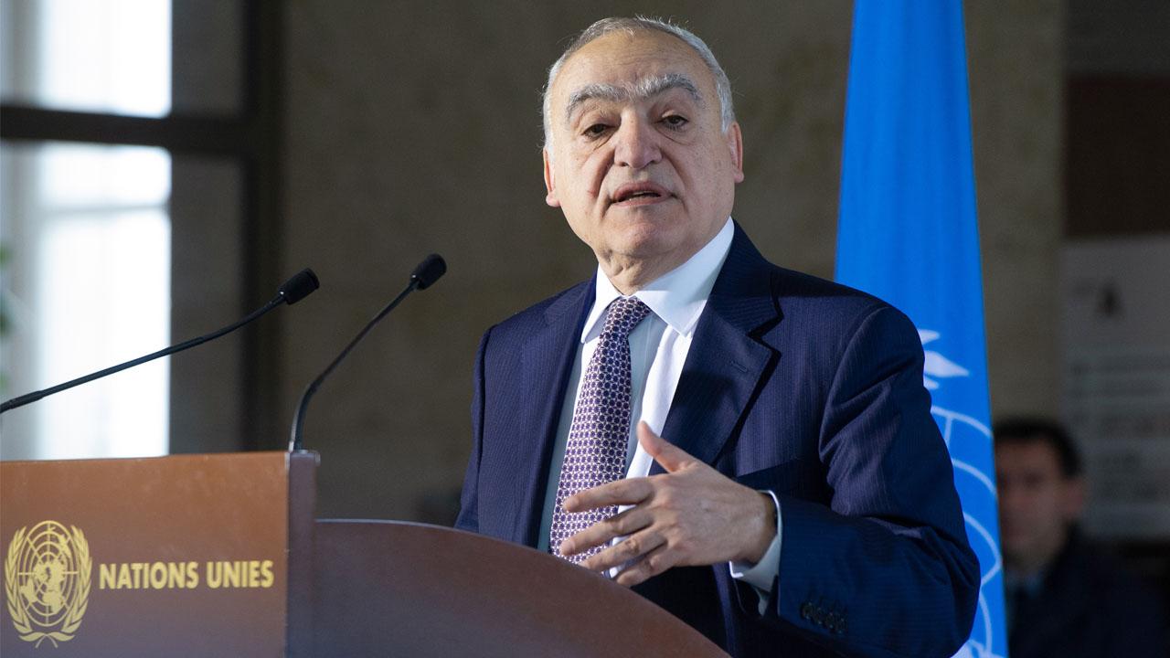 Ghassan Salame Or Libya
