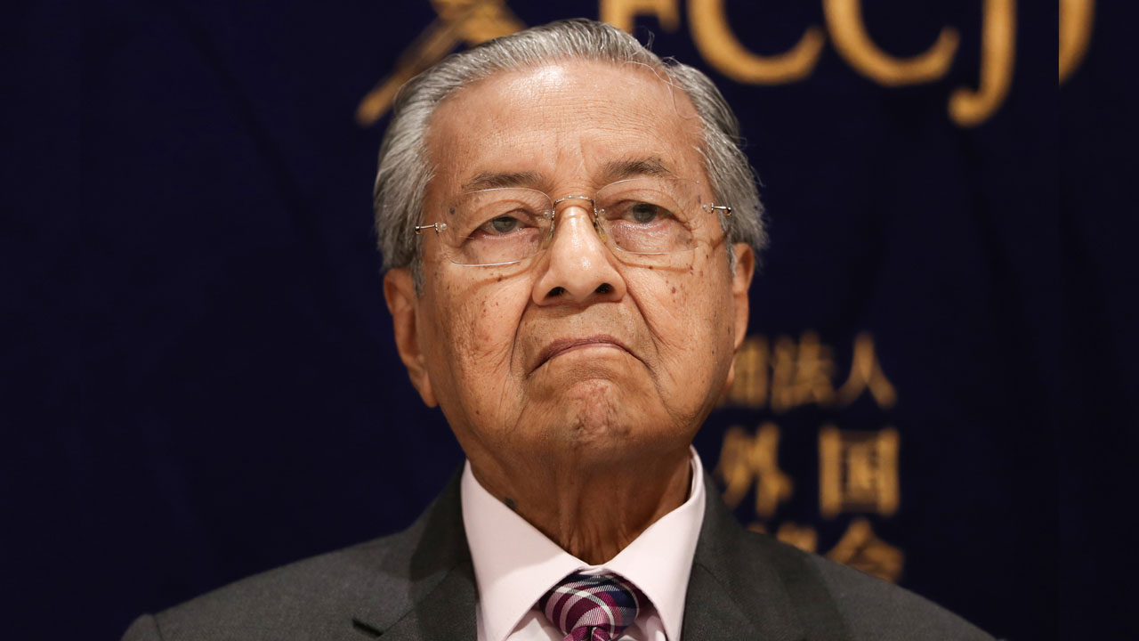 Malaysia Or Prime Minister Mahathir Mohamad