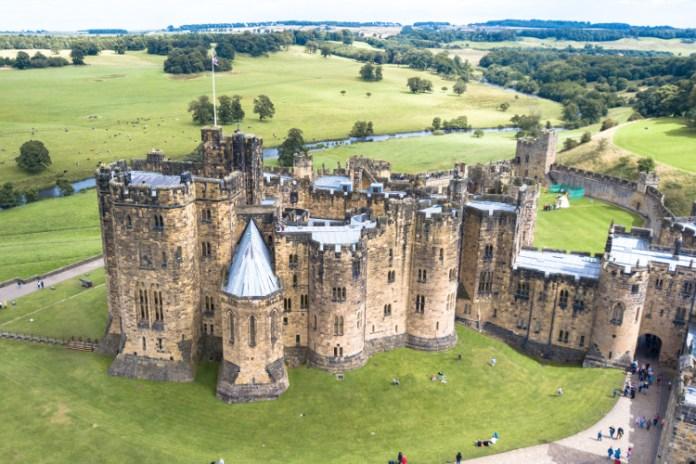 Hogwarts - Alnwick-castles