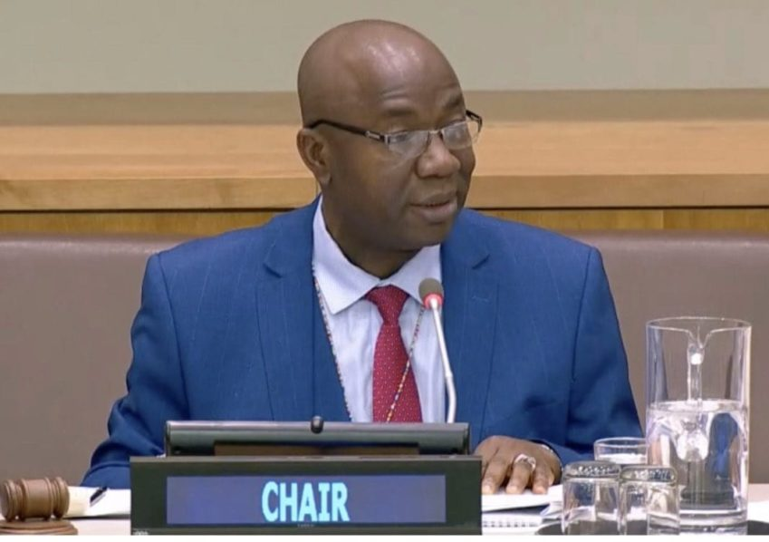 Chair Special Committee Peacekeeping Operations