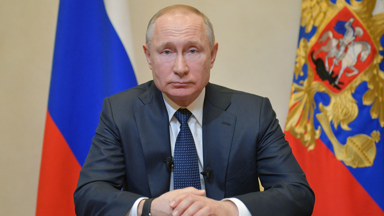 "Russian President Vladimir Putin Is No Longer Shaking hands, The Kremlin Said On Wednesday, After A Top Doctor With Whom He Met Last Week, Tested Positive For The Coronavirus. ""everyone Maintains"