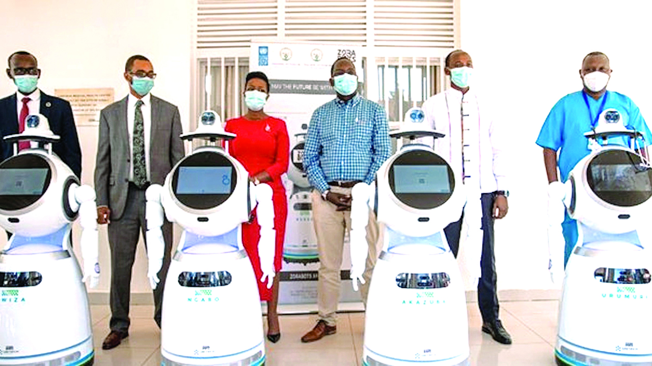 """Rwanda uses robots to protect doctors, who treat COVID-19 patients through minimising contact, Health Minister Daniel Ngamije said on Thursday. Ngamije said this at a news conference in Moscow. """"We have some health personnel who have been infected with COVID-19.  """"I think there are less than 10 because we deployed all the Personal Protective […]"""