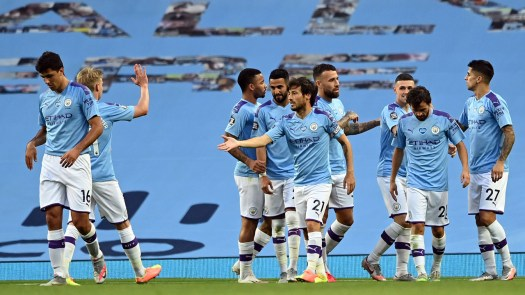 Man City crush 'embarrassed' Burnley to keep Liverpool ...