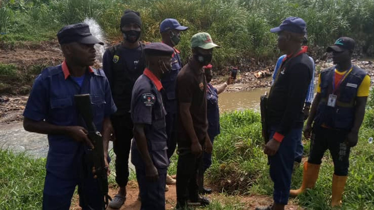 NSCDC recovers stolen vehicle in Ebonyi