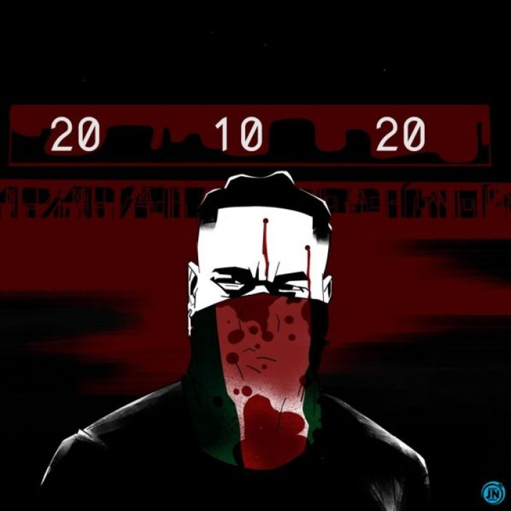 """Burna Boy Releases New Single """"20 10 20"""" Dedicated To #EndSARS Victims"""