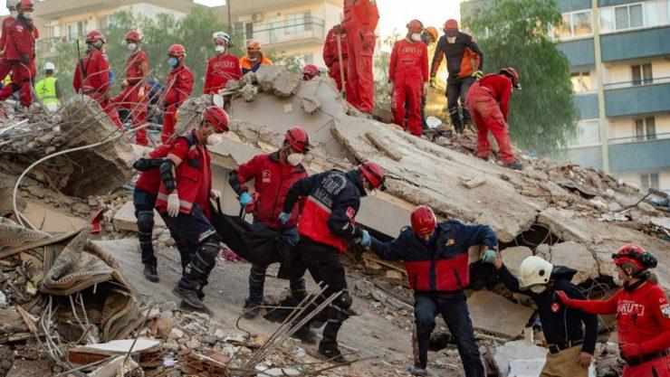 Buhari condoles with Turkey, Greece over earthquakes