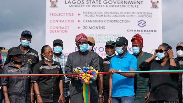Residents express relief as Sanwo-Olu flags off reconstruction of Ibeju Lekki-Epe highway