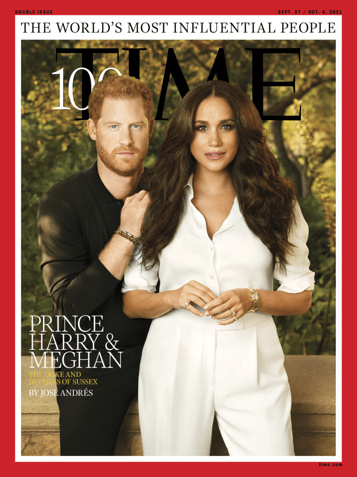 Prince Harry and Meghan TIME