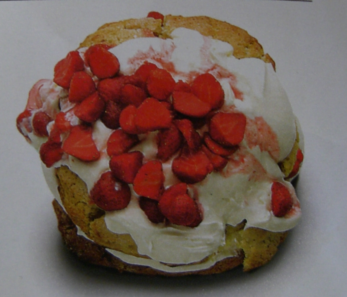 Clotted cream shortcake