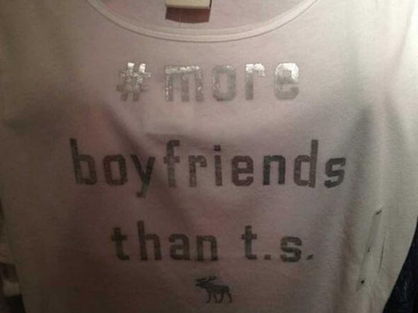 Abercrombie Pulls 'Offensive' Taylor Swift Shirt [video]