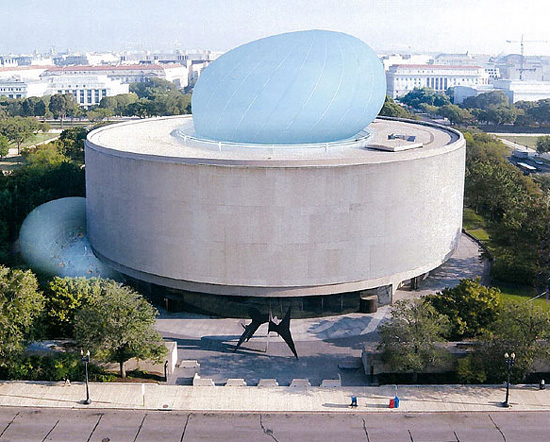 Smithsonian's Hirshhorn Museum bubble too costly to complete