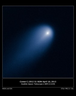 Comet ISON Taken by NASA and ESA