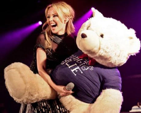 The way a celebrity holds a bear can force Facebook to censor it.