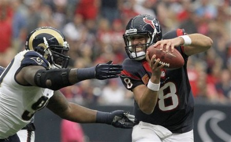 The Houston Texans are still unsure who will start at quarterback on Sunday against the Chiefs.