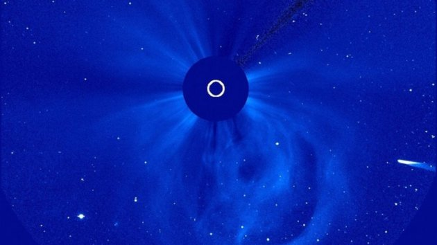 Comet ISON May Have Lived Through Sun Encounter after All