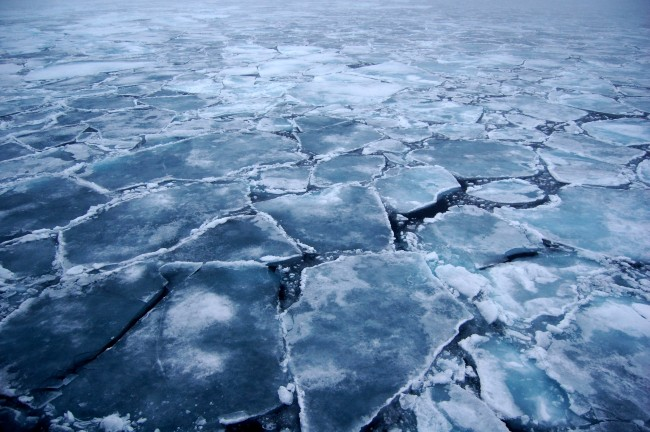 Arctic sea ice volume resurges according to ESA's Cryosat