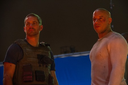 Last Fast and Furious 7 scene filmed with Vin Diesel and Paul Walker