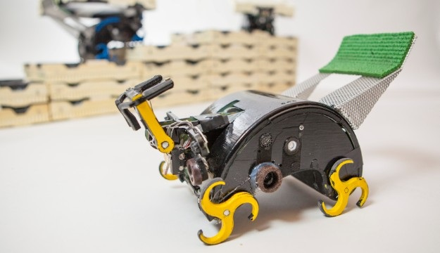 Self organizing termite like robots could aid construction efforts