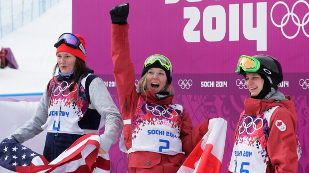 Olympic Winter Games North America Sweeps Ladies Slopestyle
