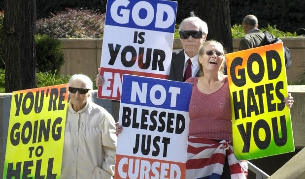 Fred Phelps and Westboro Hurt Christians Most